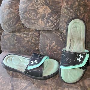 Under Armour 4D- Foam Slide Sandals, Size 11